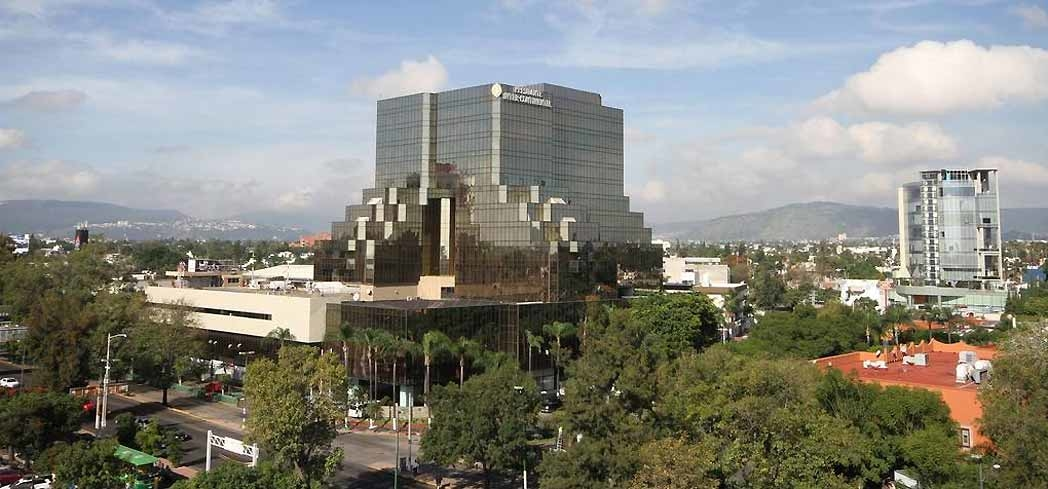 The exterior of Presidente InterContinental Guadalajara