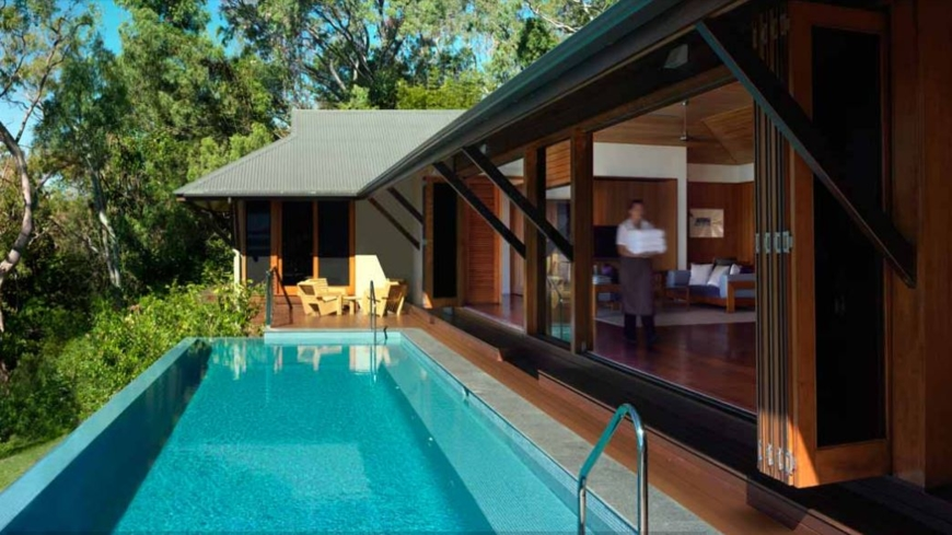 Relax at this sumptuous, secluded oasis on the northern tip of Hamilton Island
