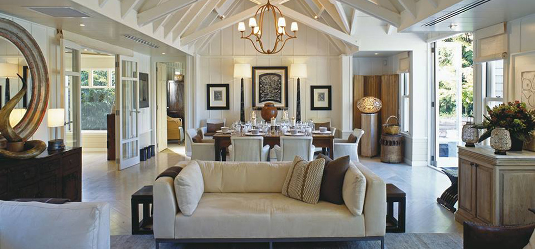 A cottage at Huka Lodge