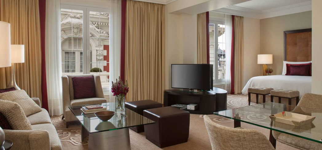 A suite at Four Seasons Hotel Buenos Aires