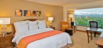 This Marriott is a top choice for business and social gatherings