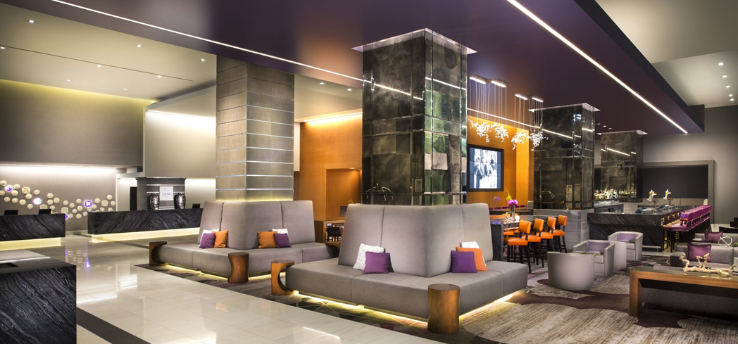 This urban resort is designed to fulfill guests' expectations of Golden Age of Hollywood glamour