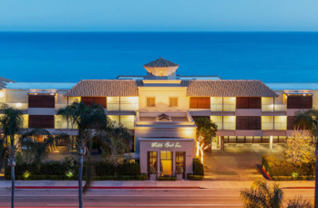This 45-room inn sits right on Malibu's most pricey and scenic beachfront