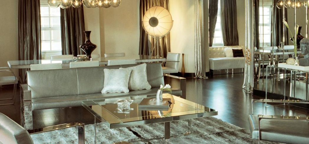 The Penthouse Suite that once served as home for legendary silver screen couple Clark Gable and Carole Lombard