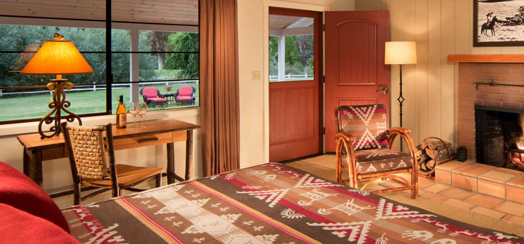 A guest room at Alisal Guest Ranch & Resort