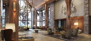 Lobby at Edgewood Tahoe Lodge