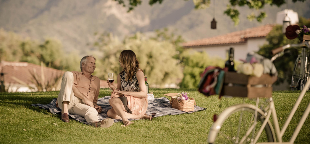 Enjoy a picnic at Ojai Valley Inn & Spa
