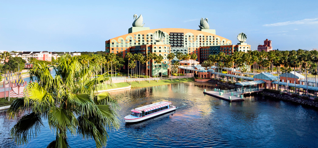 The view at Walt Disney World Dolphin Hotel