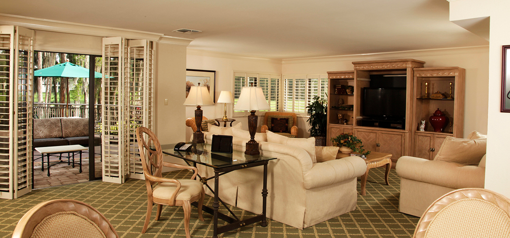 The Executive Vip Suite at Saddlebrook Resort Tampa