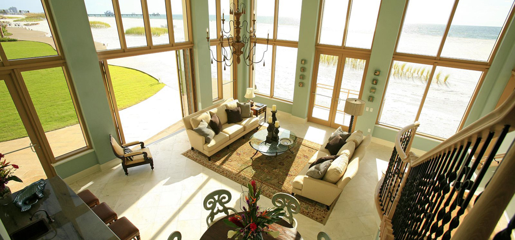 A suite at Sandpearl Resort
