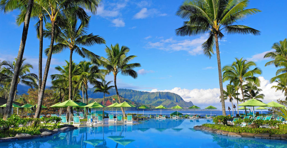 St Regis Princeville Resort one of GAYOT's Top Ten Hotels in Hawaii