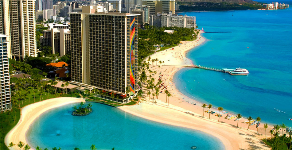Hilton Hawaiian Village Waikiki Beach Resort one of GAYOT's Top 10 Wedding Hotels Hawaii