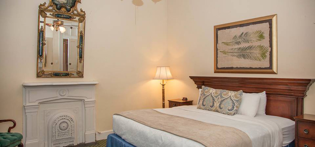 This smallish hotel is in the heart of the French Quarter