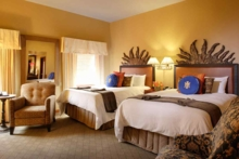Double Deluxe Beds at The Heathman