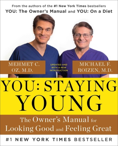 Dr. Oz shares his secrets for looking good and feeling great in this new diet book