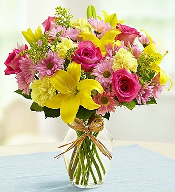 Spring is in the air, and this beautiful Spring bouquet has mom's name on it