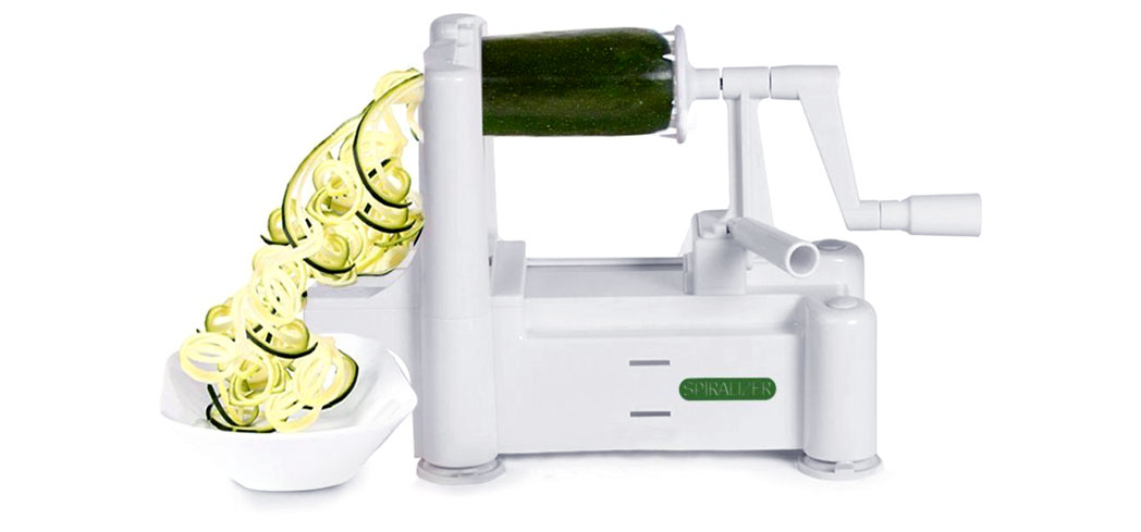 Check out GAYOT's Top 10 Gifts for Foodies including the Paderno USA 4-Blade Spiralizer