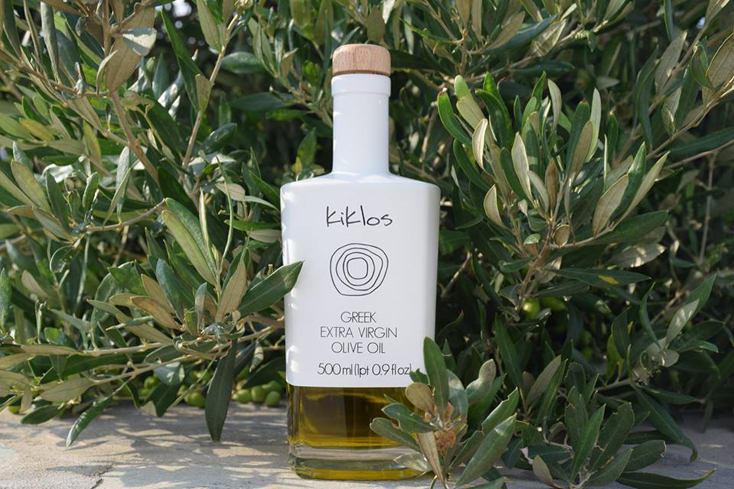 Kiklos Extra Virgin Greek Olive Oil is made from 100 percent, single-sourced Koroneiki olives