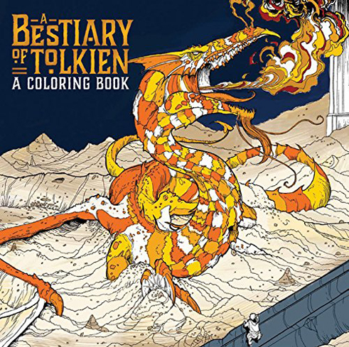 Bring your favorite creatures from Middle Earth to life with the A Bestiary of Tolkien Coloring Book
