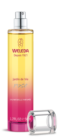 Weleda Jardin de Vie Perfumes feature three scents