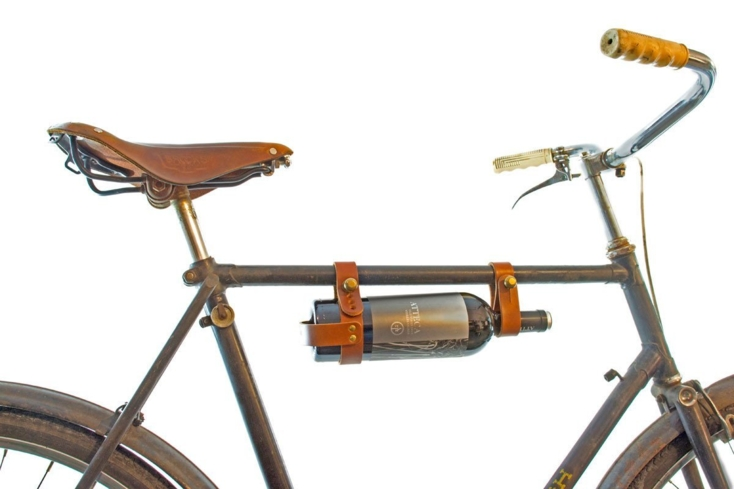 The Oopsmark Bicycle Wine Rack is the perfect gift for the wine-loving biker on your list