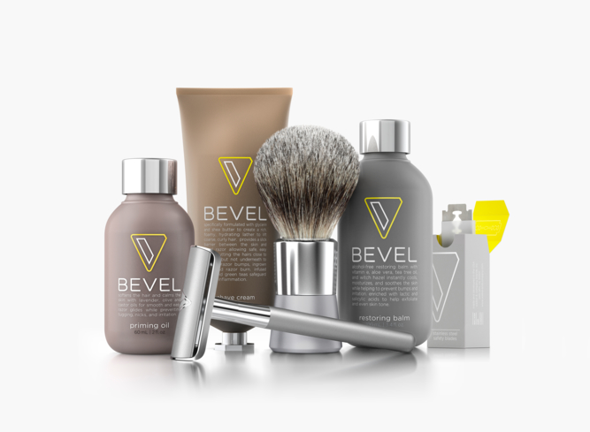 The Bevel Shave System is designed to offer a better shave for men with coarse, curly hair