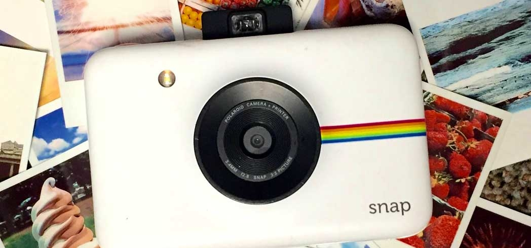 The Polaroid Snap, one of GAYOT's Top 10 Holiday Gifts