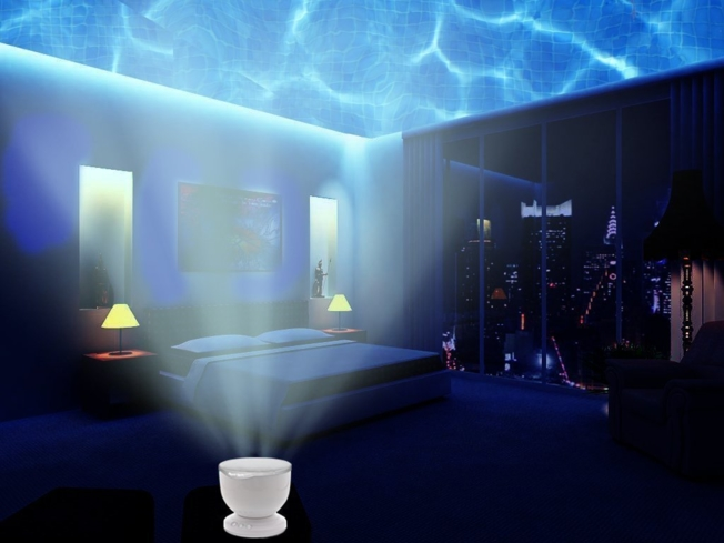 Sleep soundly with the DreamWave Night Light, one of GAYOT's Top 10 Holiday Gifts