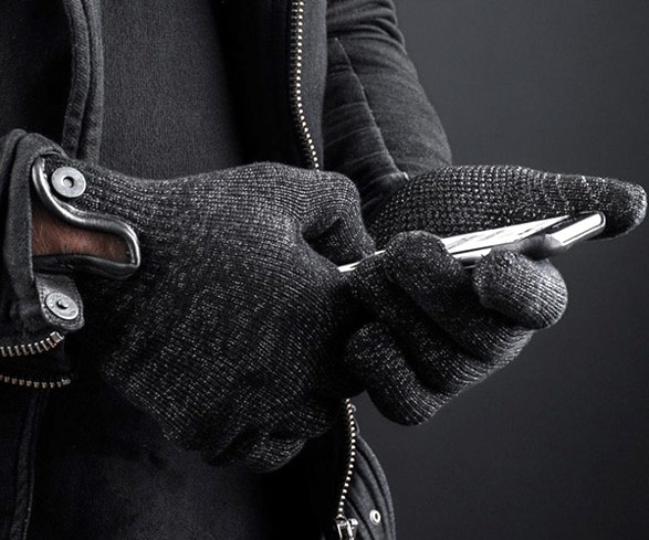Keep your hands warm while you text with the Mujjo Touchscreen Gloves, one of GAYOT's Top 10 Holiday Gifts