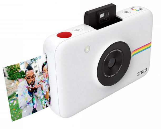 Share your shots with friends using the Polaroid Snap, one of GAYOT's Top 10 Holiday Gifts