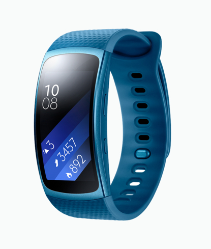 Samsung's Gear Fit2 is a great workout buddy and is one of GAYOT's Top 10 Holiday Gifts