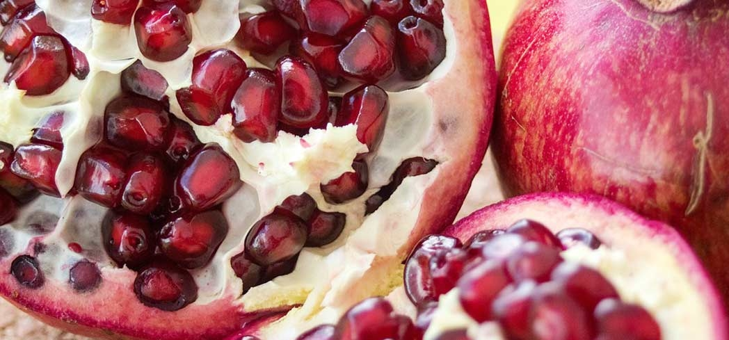 Pomegranates are a great source of antioxidants