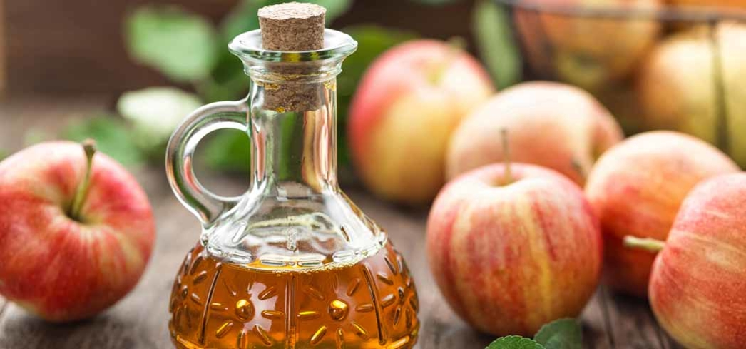 Apple cider vinegar is great for detoxing and offers antibacterial properties