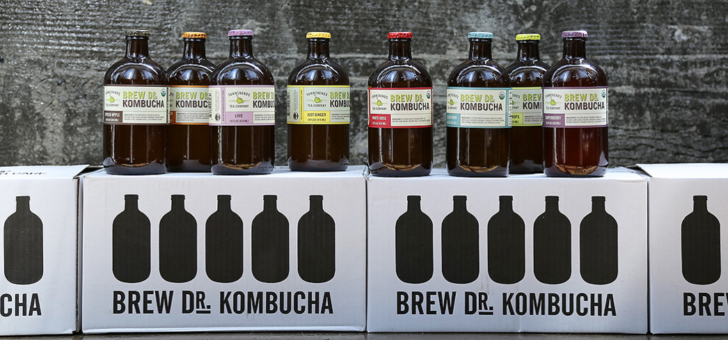 Brew Dr. Kombucha is a 100% raw kombucha with naturally occurring probiotics