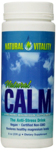 Natural Calm acts as a great stress fighter