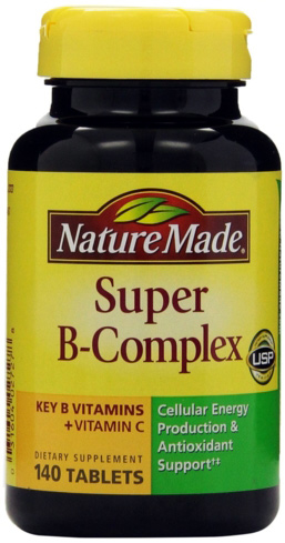 Vitamin B complex combines varieties of B vitamins to reduce anxiety and relieve fatigue and depression