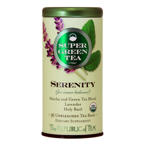 A blend of calming and relaxing organic tea leaves by The Republic of Tea