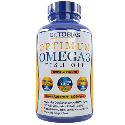 Fish oil can reduce anxiety, inflammation and boost the immune system