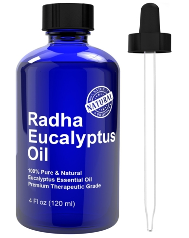 A drop of Eucalyptus oil goes a long way in calming and relaxing your nerves