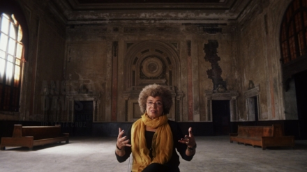 Long-time civil rights activist Angela Davis in 13TH - © 2016 Netflix