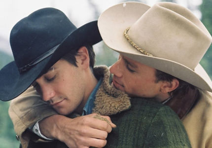 Brokeback Mountain, one of GAYOT's previously featured sexy film