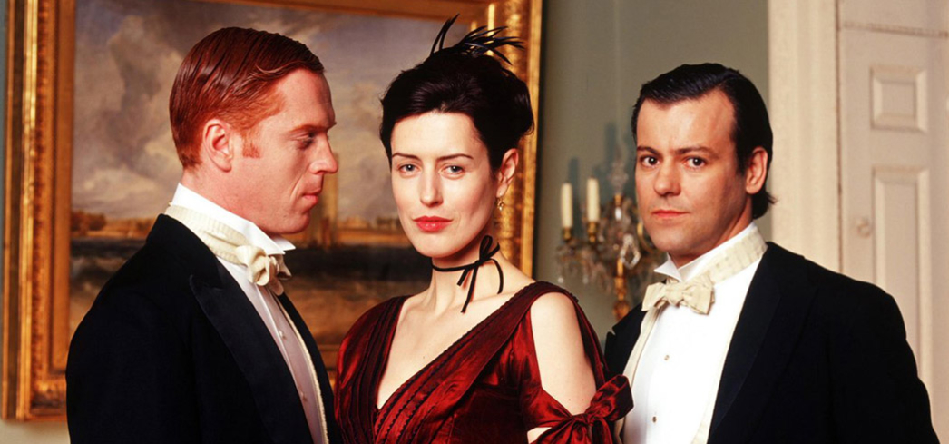 It's a bitter love triangle that lasts generations in The Forsyte Saga