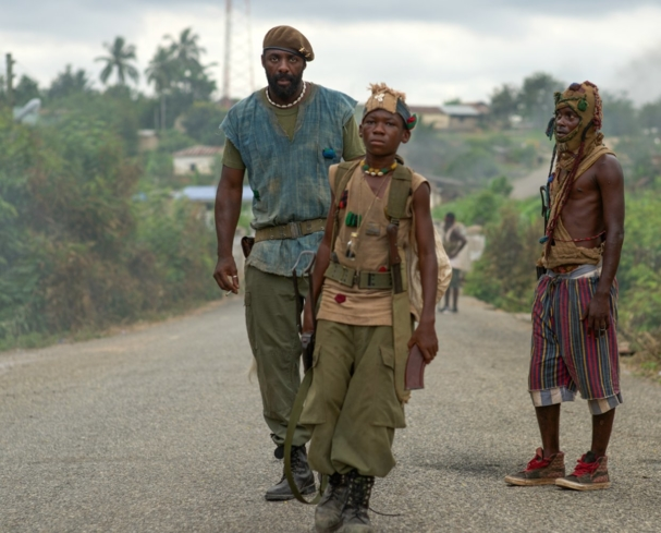 Idris Elba and Abraham Attah in Beasts of No Nation