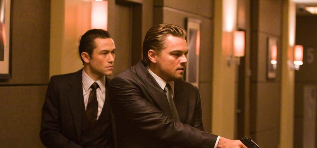 A scene from Inception, one of GAYOT's Top 10 Action Movies (Photo by Stephen Vaughan - © 2010 WARNER BROS.)