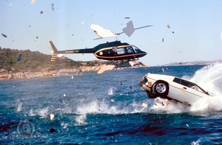 An action scene from The Spy Who Loved Me (Photo © 1977 - MGM)