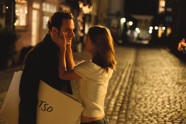 Keira Knightley and Andrew Lincoln in Love Actually