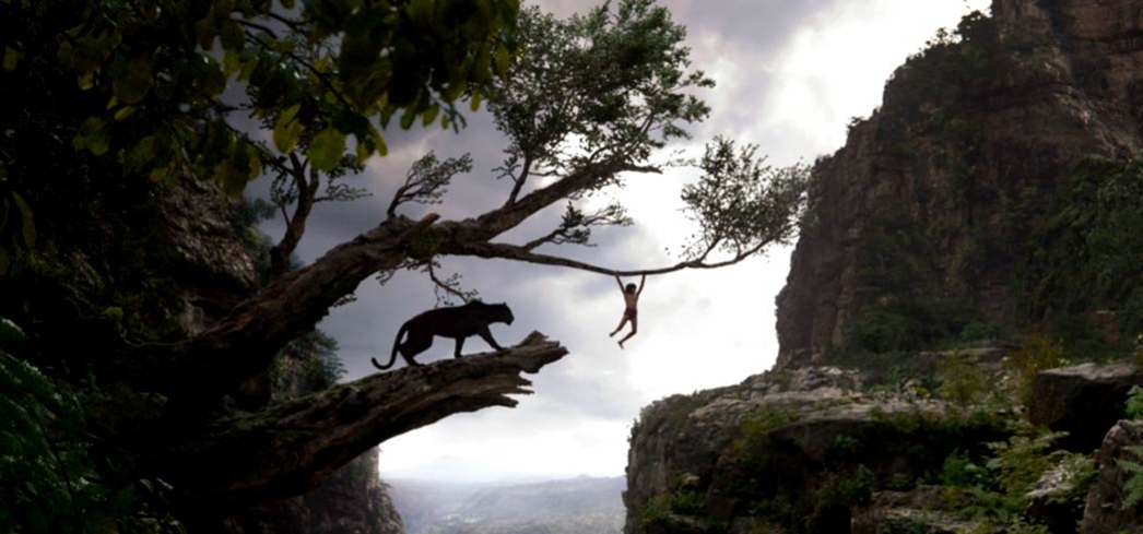 Ben Kingsley and Neel Sethi in The Jungle Book