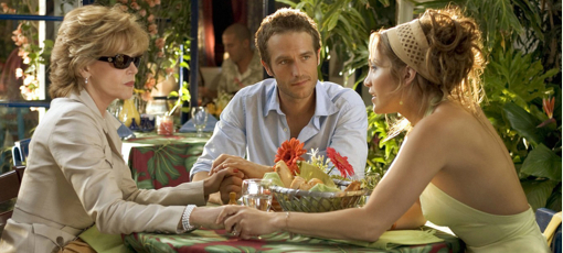 Jane Fonda (opposite Jennifer Lopez) in Monster in Law is one of GAYOT's Best Movie Moms