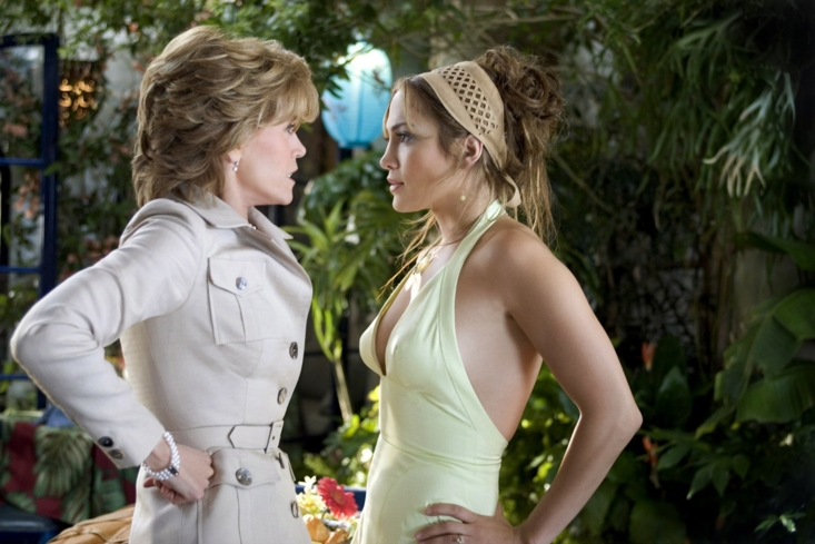 Jennifer Lopez and Jane Fonda in Monster-in-Law