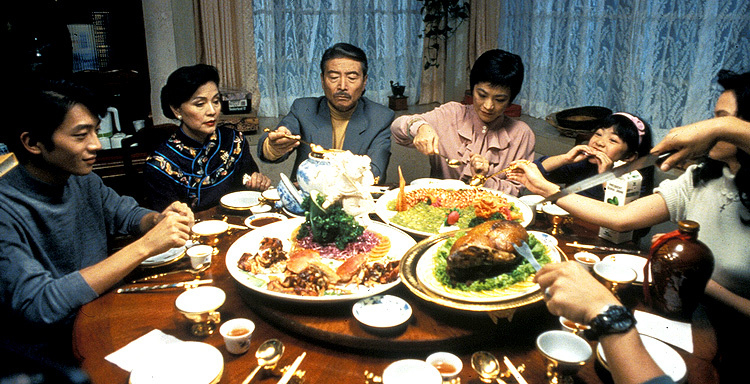 Ya-Lei Kuei, Chao-jung Chen, Sylvia Chang, and Sihung Lung in Eat Drink Man Woman